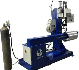 Tank Nozzle and Nut Welding Machine