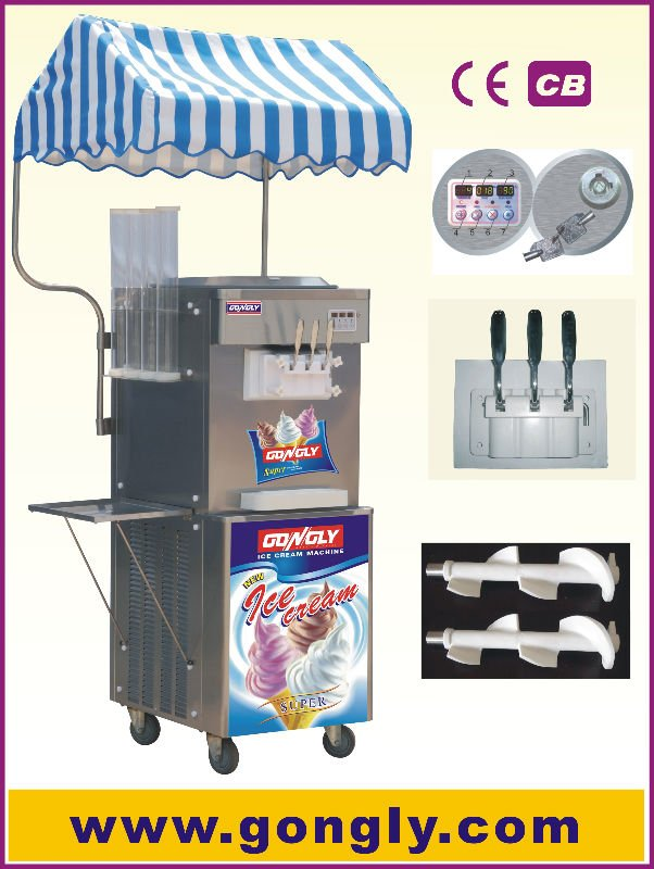 BQL-S33-1 soft serve ice cream making machine(CE)