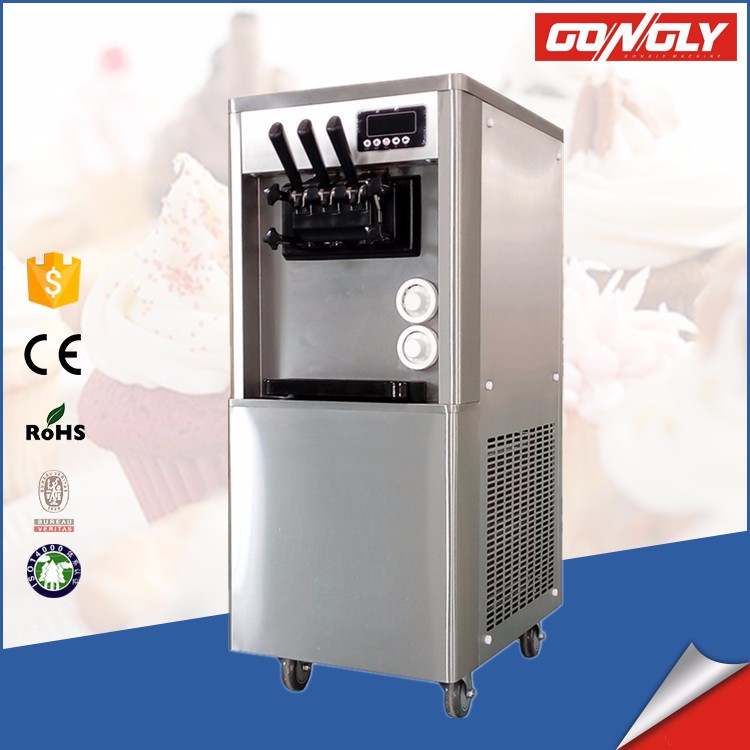 BQL-A22 220V/110V USA supermarket store used ice cream machine soft serve