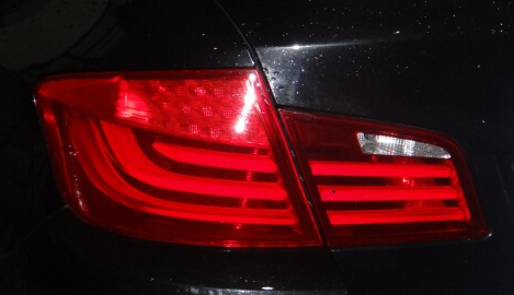 BMW 5 series tail lamp