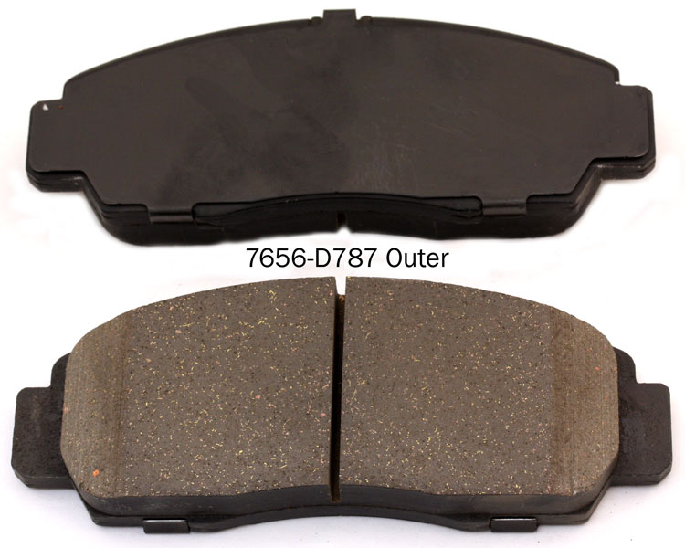 Auto Mobile Parts 45022-S7A-N00 brake pad for HONDA CIVIC ODYSSEY STREAM ACURA TL RL series brake pad manufacturer