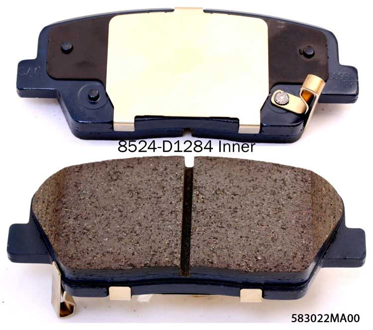 Vector 58101-1FE00 brake pad for Hyundai coupe elantra sonata tiburon brake pads factory for Kia magentis soul sportage optima brake pad suppliers