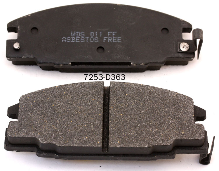 manufacturer brake pad for ISUZU PICK UP AMIGO I-MARK RODEO TROOPER 16 05 825 brake pad factory