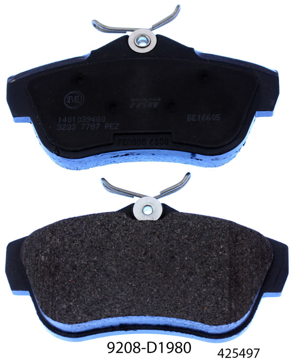 car auto parts 2101-350 1089 brake pad for LADA 1200-1500 1200-1600 SAMARA NOVA NIVA TOSCANA brake pads suppliers in china