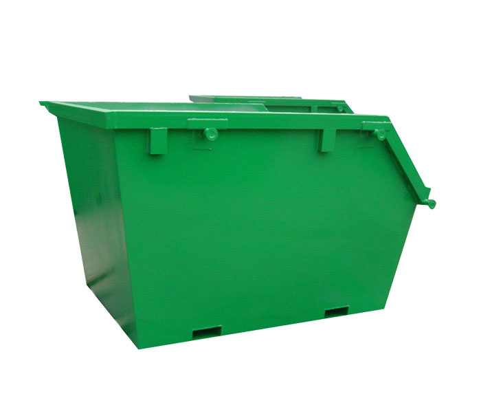 Waste Metal Waste Bin Container For Waste Oil
