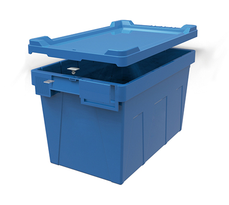 Large capacity moving plastic storage totes
