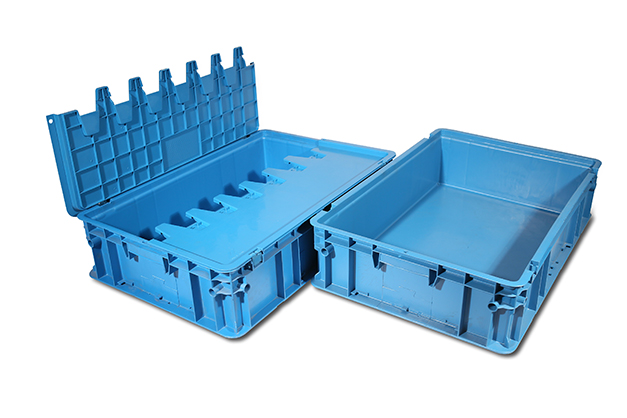 Popular logistic plastic crates in customized sizes