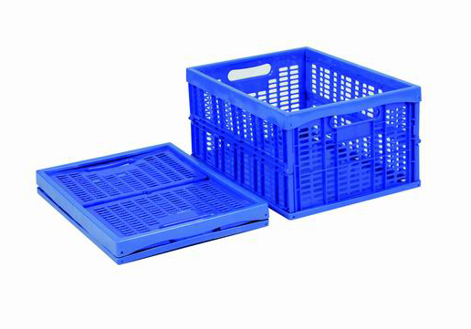 Folding plastic box/ totes/ crates/ containers