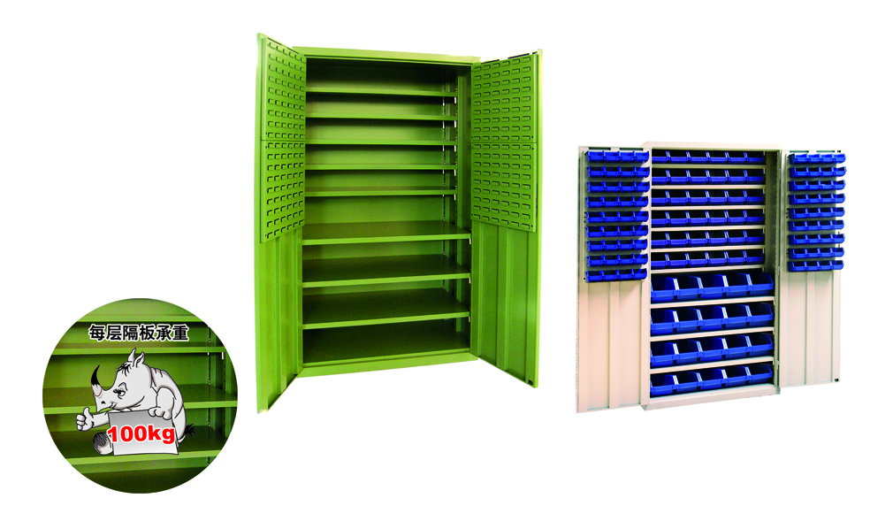 Strong safe tool cabinet of large load capacity