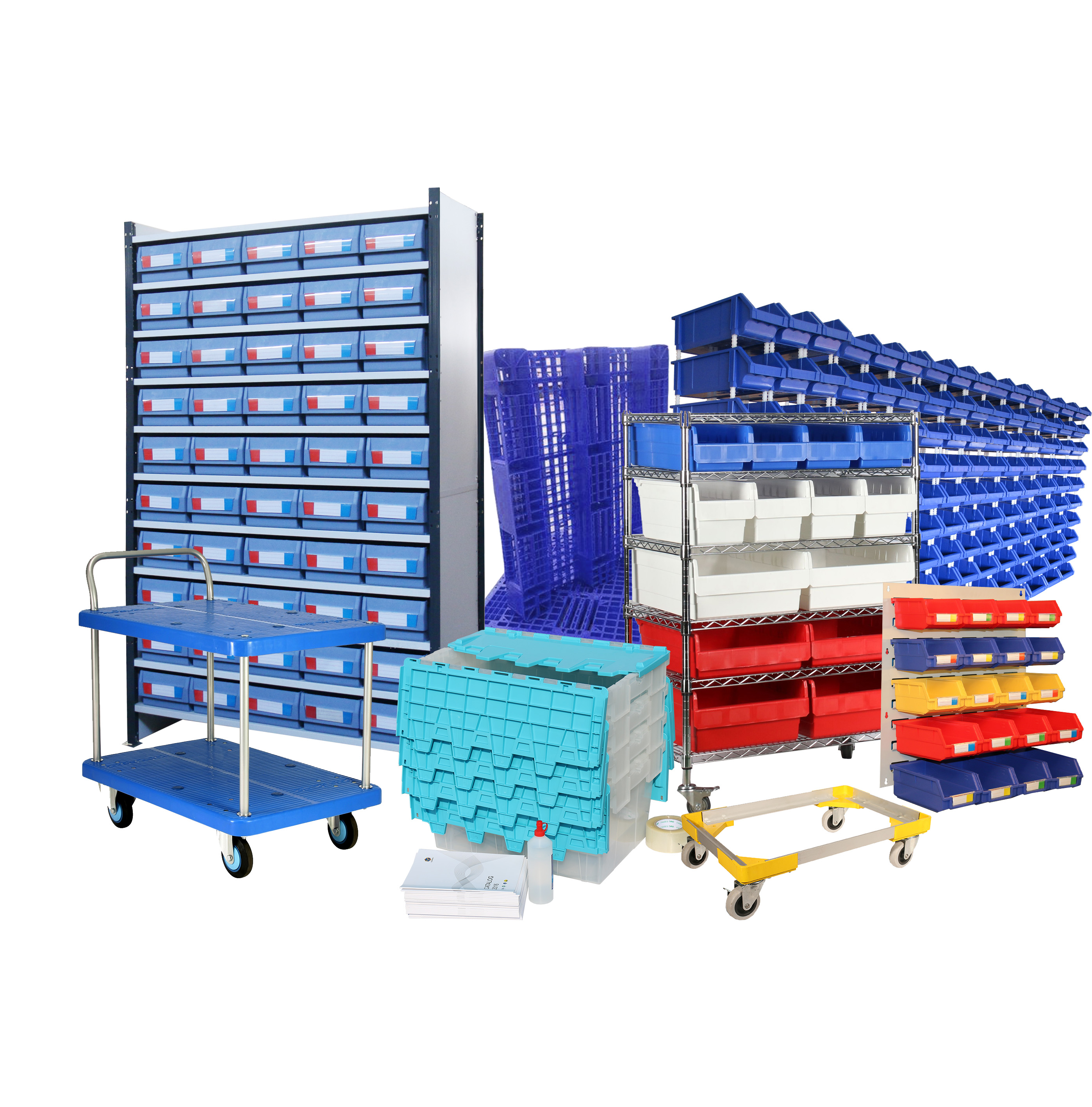 Storage handling and organization products manufacturer