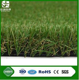 SGS test waterproof soft green natural looking synthetic turf ornamental garden artificial grass