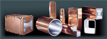 China best copper mould tube supplier for continuous casting machine