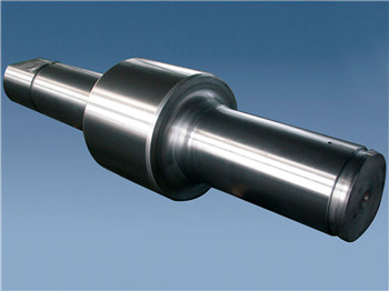 high chromium steel rolls for hot strip mills and universal section mills