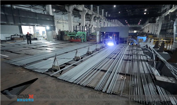 automatic steel bar splitting equipment/system for bar rolling mill,automatic steel-splitting/separation system supplier