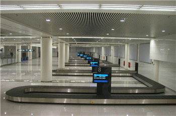 horizontal baggage auto sorting carousel system supplier for small airport,arrival reclaim/auto-sorting carousel supplier