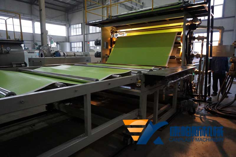 PVC Floor leather production line, wide floor leather production line