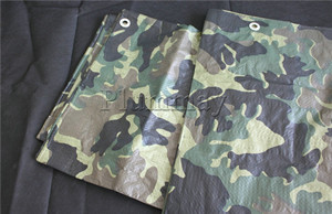 Chinese PE camouflage special tarpaulin cover