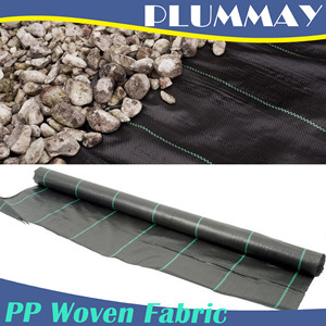 High quality virgin weed control   erosion control woven fabric