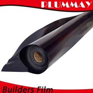 transparant barrie PE building film builder film on construction