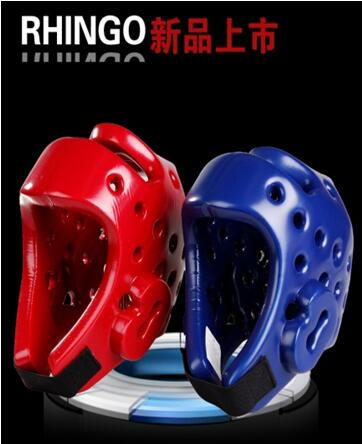 blue red children and adults taekwondo helmet/head gear guard with NRB and PU