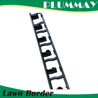 Flexible black Garden Lawn Grass Edge Edging Border