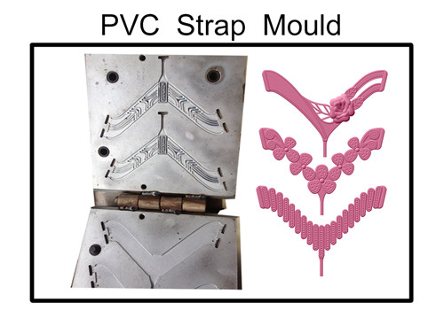 1/2/3 colors pvc strap upper mould