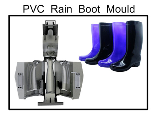 pvc rain boot mould and machine