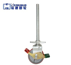 European adjustable PU Scaffolding caster wheel