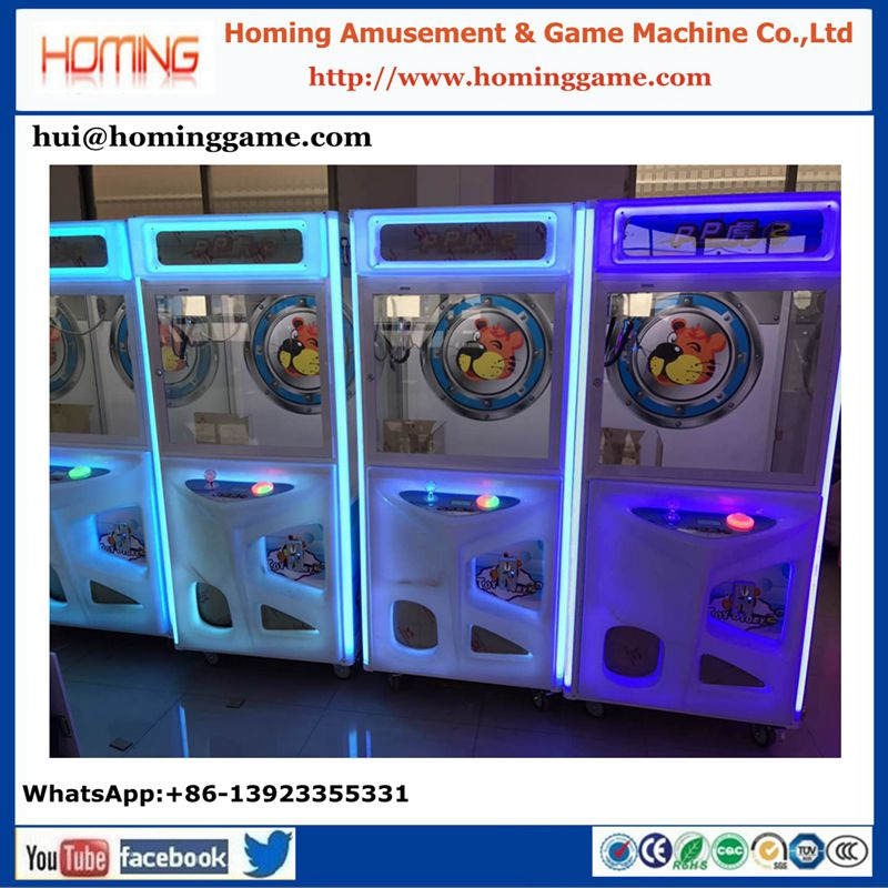high quality arcade toy gift machine candy claw crane prize vending game machine