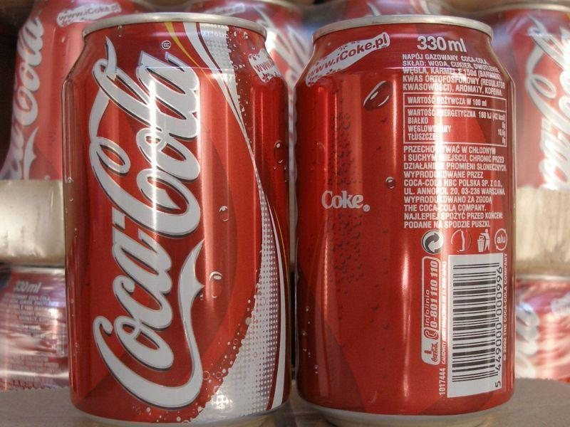Coca-cola 33cl soft drinks