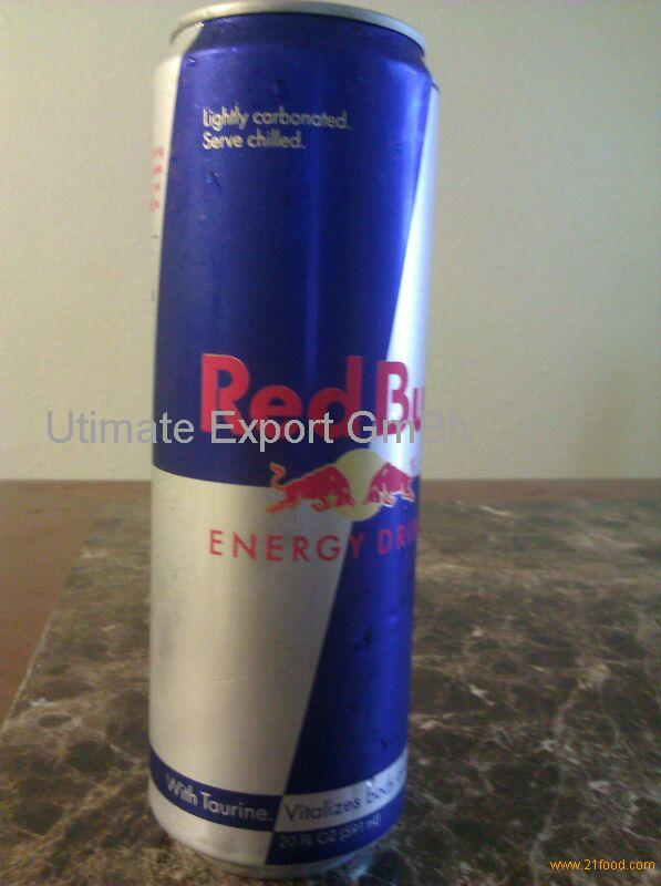 RED BULL AND OTHER ENERGY DRINKS AVAILABLE IN BULK