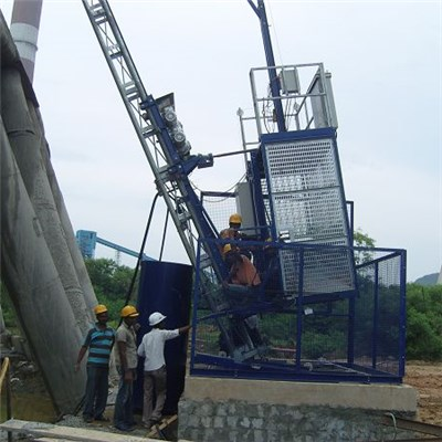 SCQ200 Variable Speed Customized Inclined Construction Hoist