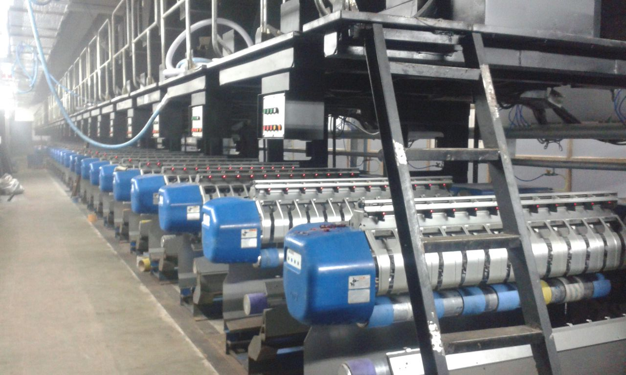 Used TMT Polyester, Nylon 6 and Nylon 66 POY and FDY spinning production line