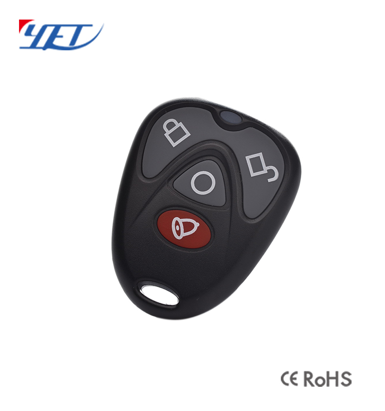 Wireless 4 Button RF Duplicating RF Remote Control