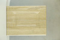 wood color pvc kitchen cabinet door
