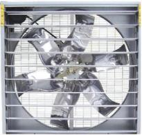 Good quality shuttered push-pull type ventilating fan for greenhouse/poultry house