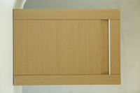 house use wood grain mdf cabinet door