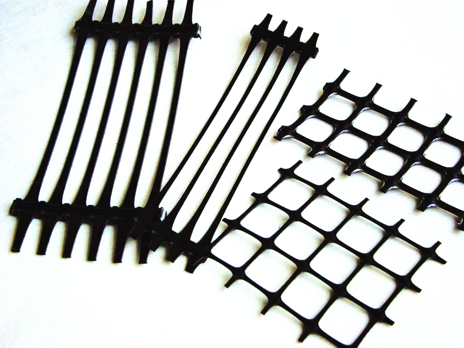 PE Uniaxial plastic geogrid