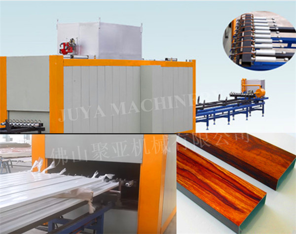 vacuum wood grain effect transfer machine