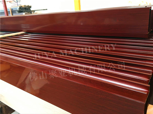 aluminum profile wood grain machine