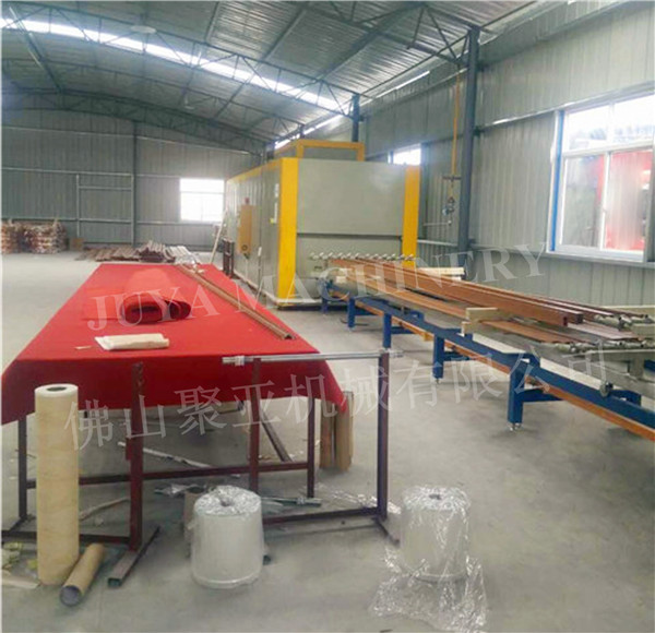 aluminum sheet wood grain heat transfer machine