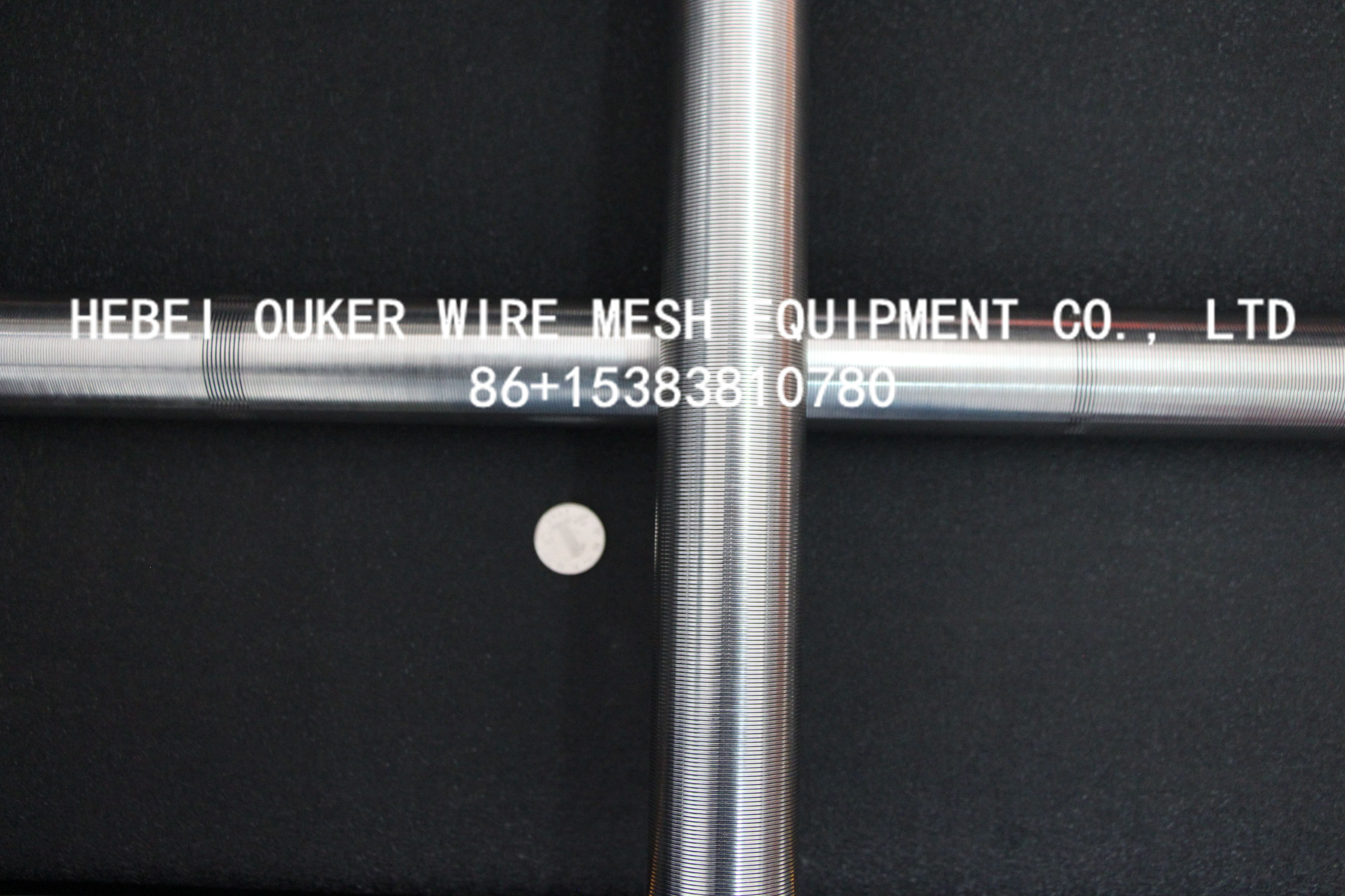 slot tube wedge wire screen welding machine