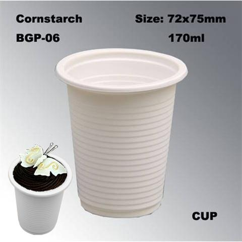 High Quality Disposable Biodegradable Cornstarch FDA Certificated Hot Drinking Coffee Cup
