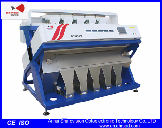 Rice Color Sorter with CCD Camera for Agricultural  Processing Machine