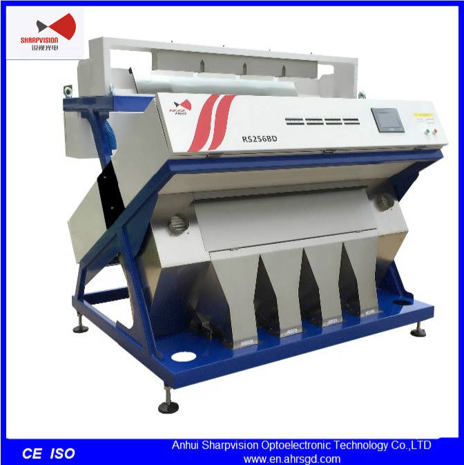 CCD Camera Corn Cleaning Machine for Food Processing Machine RS256B-Z