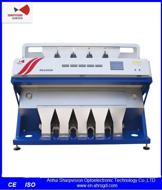 CCD Camera Optical Grain Color Sorter Machine for Lentil Selecting RS320B-Z