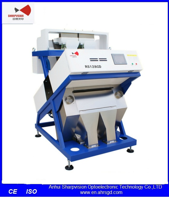 True Color PVC or PP Plastic Color Sorter for Industrial Grading Machinery