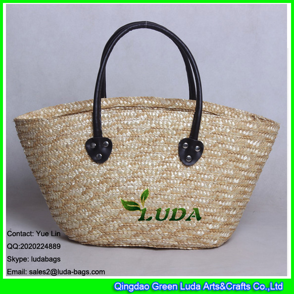 LDMC-007 natural totes women fashion beach straw bags