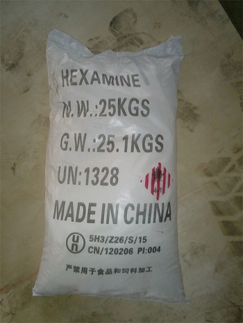 Hexamine pp/pe or kraft bag,super fine hexamine from 100 to 425 mesh