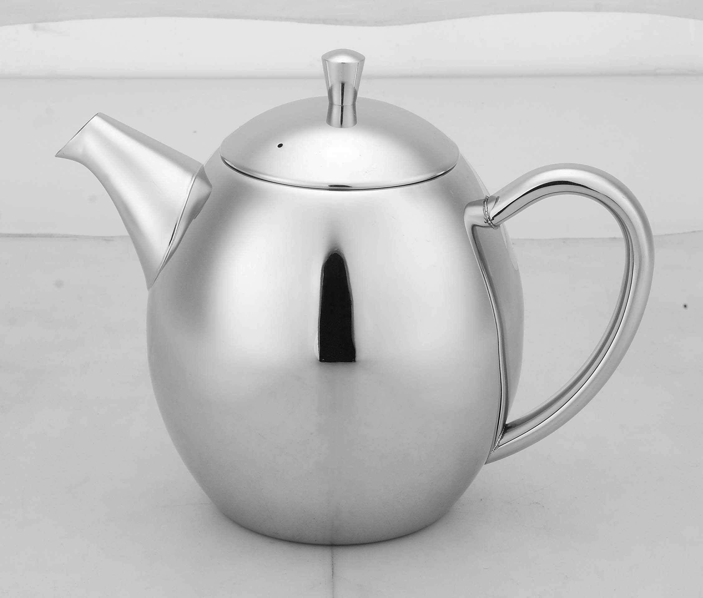 Double Wall Stainless Steel Tea pot/tea maker(infuser/Strainer)